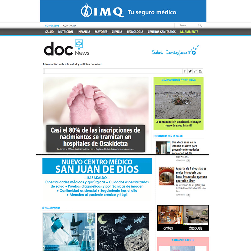 docnews, periodico de la salud