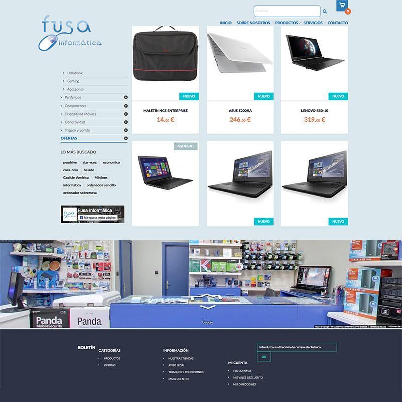fusa informatica, tienda de informatica en bilbao